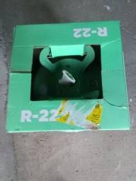 gás R22 garrafa lacrada 13,6kg