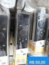 CONTROLE P/ TV SAMSUNG SMART 4K, NOVOS R$50,00
