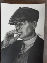 Desenho Thomas Shelby - Peaky blinders
