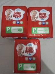 Fralda Baby Roger P! Kit com 3