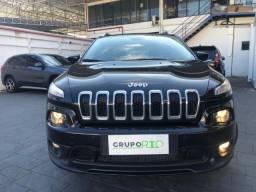 Jeep Cherokee Longitude 3.2 V6 36.000KM Completo Top Couro Rodas Raridade