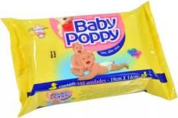 Lenço umedecido baby popy NOVO