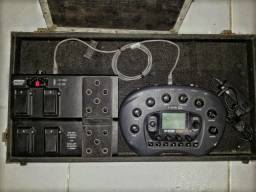 Pedaleira LINE 6 POD HD (feijão)  com Controlador
