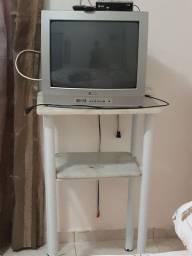 Tv Philco com mesa e conversor digital