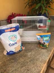 Acessórios para porquinho da india/hamster/coelho