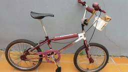 Bicicleta antiga Caloi Cross extra ferro
