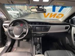 Toyota Corolla 2.0 XEI Automático GNV Multimídia Couro 2017 Troco e Financio