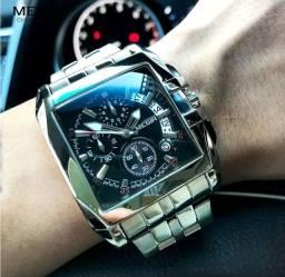 Dia dos pais, Relógio Megir Importado, original com visor quadrado
