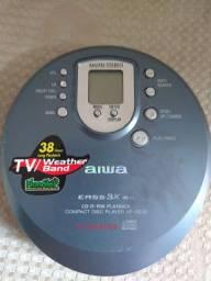 Compacto disco player aiwa