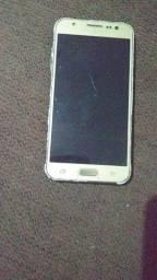 Samsung j5 tela trincada tem q trocar tela e bateria
