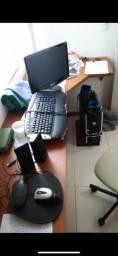 Computador e acessórios completo