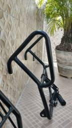 Protetor de carenagem para Fan/Titan/Start 160 com pedaleira