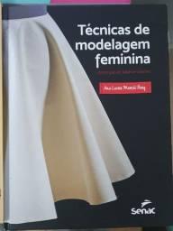 Livros de Modelagem e Desenho - Senac - Moda