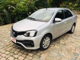 Etios Xplus 2019 1.5 completo, carro com apenas 50 mil km, muito novo!! Financia 100%