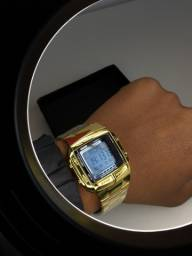 Relógio Masculino Skmei 1381 Dourado