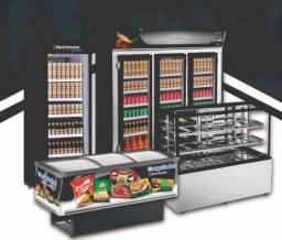 Ilha/cervejeira/refrigerador e vitrine refrimate (ALEF)