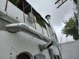 Coifa industrial inox sob medida para lanchonete, hvamburgueria