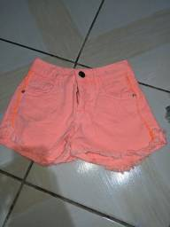 shorts jeans rosa