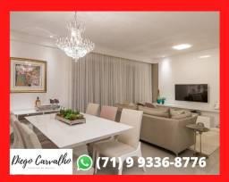 Apartamento Patamares- Completo 3/4 Quartos , 5 banheiros, 2 vagas, 113 m² (R2)