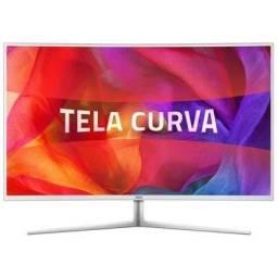Monitor AOC LED 40´ Widescreen Curvo, Full HD, HDMI/VGA/DVI, Som Integrado , ,