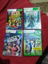 Vendo 4 jogos de Xbox 360