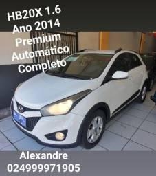 HB20X Premium 1.6, Ano 2014, Automático, Completo(Aceito Propostas)