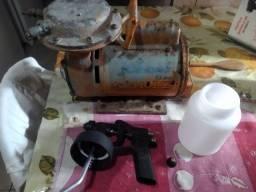 Compressor com pistola 200$