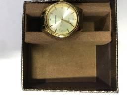 Relógio mondaine, original , dourado, feminino