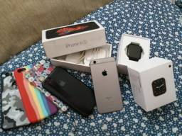 iPhone 6s e Smartwatch IwO w46