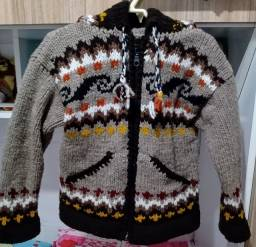 Casaco de Lã Peruana