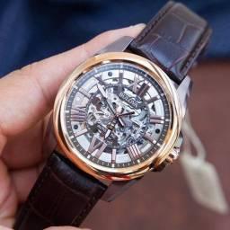 Relógio bulova automático Skeleton
