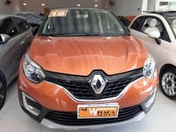 Renault Captur Intense 1.6 automatico CVT 2018 único dono. Revisões na concessionária.