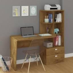 Oferta do Dia!! Mesa Computador Escrivaninha com Estante - Só R$399,00
