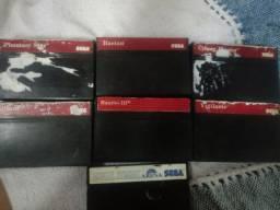 7 jogos de master system originais