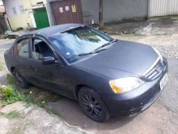 Honda Civic preto á venda