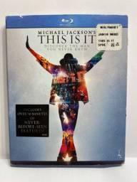 Michael Jacksons This Is It - Blu Ray - Importado