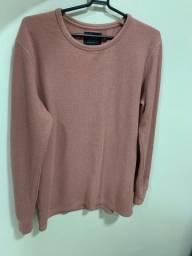 Camisa manga longa rose