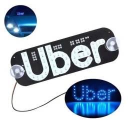 Título do anúncio: Placa de Led Uber