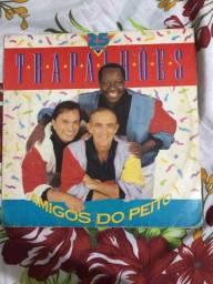 Lp Os Trapalhões Amigos Do Peito Disco Vinil 25 Anos - 1991