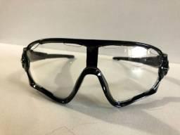 Oculos Ciclismo Transparente