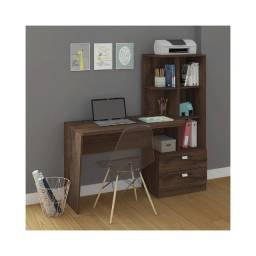 Título do anúncio: Mesa Para Computador Elisa Café