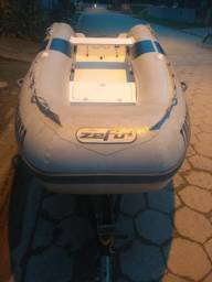 Vendo Bote Zefir 3,60 gold ano 2011, documentado !! - 2011
