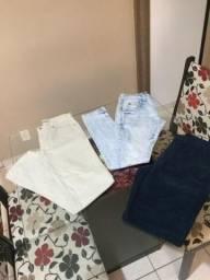Calça jeans e bermuda 38/40 masculina
