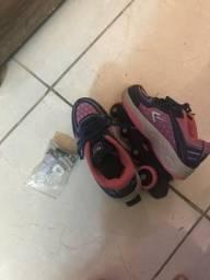 Sapato com rodinhas
