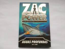 Livro Zac Power 02 - Águas Profundas, usado comprar usado  São José