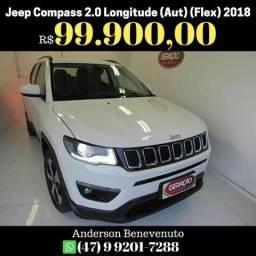 Jeep Compass 2.0 Longitude (Aut) (Flex) 2018 - 2018
