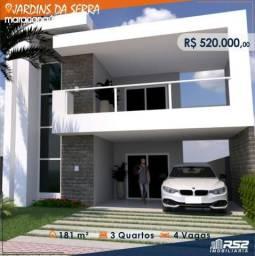 Casa Jardins da Serra - 4 Quartos