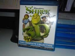 Raro Shrek The Complete Collection 3d Bluray