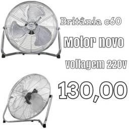 Ventilador Britânia c60 turbo voltagem de 220v