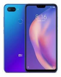 Smartphone Xiaomi Mi 8 Lite 64GB Azul Novo na Caixa